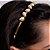 Tiara Gota Pérola Dourada - Imagem 2