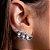 Ear Cuff Mini Gotas Acqua Prata - Imagem 1