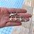 Argola Mini Estrela do Mar Prata - Imagem 2