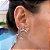 Argola Mini Estrela do Mar Prata - Imagem 1