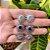 Brinco Star Brilhante Tiffany Prata - Imagem 2