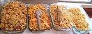 Pegador de Massas Mandiocas Batatas Com Garra comidas buffet em Inox 20cm - Imagem 2