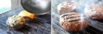 Abafador de Hambúrguer Lanches Para chapa Profissional e Frigideira em Alumínio com Pomel - Imagem 2