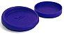 Tampa Silicone P/ Canecas - 9 Cm D - Azul Royal (2251) - 01 Unidade - Imagem 1