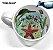Caneca Cerâmica 325 ml Branca Motto Mug Resinada P/ Sublimação - Vida Marinha ShopVirtua3000® (2108) - 36 Unidades (Caixa Fechada) - Imagem 2