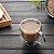 Xícara Vidro Cristal Parede Dupla P/ Café 75ml (Linha Elegance Sublimação) (2708) - 01 Unidade - Imagem 4