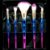 Dapop Kit de Pincéis Degradê HB97089 - 4 Kits - Imagem 1