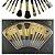 Meily´s Kit 12 Pincéis Para Maquiagem Luxo MKP-109 ( 3 Kits Sortidos ) - Imagem 1
