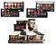 Paleta de Sombras Look Fabulous Matte & Metalic ( Box com 24 Unidades ) - Imagem 1