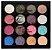 Paleta de Sombras The Glow 15 Cores e 01 Primer Ruby Rose HB 1016 ( 12 Unidades  ) - Imagem 2