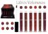Display Batom Matte Volumoso Max love 218 - 223 ( 36 Unidades + Provadores ) - Imagem 1