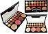 Display Paleta de Sombras, Iluminador, Blush e Contorno Playboy HB96648 ( 12 Unidades ) - Imagem 1