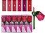 Batom  Matte Blosson Rosas Vivai 3037 ( 24 Unidades - 06 Cores ) - Imagem 1