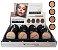 Pó Facial Compacto Cores Médias Bella Femme BF10006-B ( 32 Unidades ) - Imagem 1
