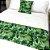 Peseira Estampada Tecido Gorgurão Floral Verde - Profitel Decor - Imagem 1