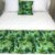 Peseira Estampada Tecido Gorgurão Floral Verde - Profitel Decor - Imagem 2