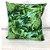 Almofada Estampada c/ Enchimento 45x45cm Floral Verde - Profitel Decor - Imagem 1