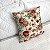 Almofada Estampada c/ Enchimento 45x45cm - Floral Vermelho - Profitel Decor - Imagem 1