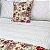 Almofada Estampada c/ Enchimento 45x45cm - Floral Vermelho - Profitel Decor - Imagem 4