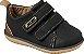 Sapato Cravinho Casual Preto/Caramelo - Klin - Imagem 1