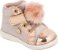 Tênis Botinha Rose Mini Gloss com Pompom - Klin - Imagem 1