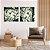 Conjunto com 02 quadros decorativos Movimento Abstrato Verde - Imagem 4