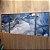 ENVIO IMEDIATO - Conjunto com 03 quadros decorativos Abstrato Azul e Prata 60x80cm e 60x30cm (LxA) Moldura cor Prata - Imagem 2