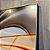 ENVIO IMEDIATO - Conjunto com 02 quadros decorativos Forma Abstrata 80x90cm (LxA) Moldura cor Inox - Imagem 4