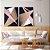 Conjunto com 02 quadros decorativos Formas Geométricas Rosê - Artista Uillian Rius - Imagem 4