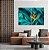 Conjunto com 02 quadros decorativos Botânicos - Imagem 4