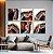 Conjunto com 06 quadros decorativos Ágata Preciosa - Imagem 4