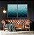Conjunto com 02 quadros decorativos Mar - Imagem 4