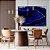Quadro decorativo Ágata Azul - Imagem 1