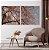 Conjunto com 02 quadros decorativos Cerejeira - Imagem 3