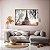 Conjunto com 02 quadros decorativos Paris - Imagem 1