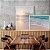 Conjunto com 02 quadros decorativos sobreposição Praia - Imagem 1