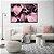 Conjunto com 02 quadros decorativos Feminine - Imagem 1