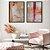 Conjunto com 02 quadros decorativos Aquarela Colors - Imagem 1