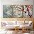 Conjunto com 03 quadros decorativos Árvore  - Imagem 1