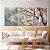 Conjunto com 03 quadros decorativos Árvore  - Imagem 3