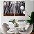 Conjunto com 02 quadros decorativos Outono - Imagem 1