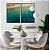 Conjunto com 02 quadros decorativos Mar - Imagem 2