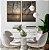 Conjunto com 02 quadros decorativos Pôr do Sol - Imagem 3