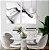 Conjunto com 02 quadros decorativos Abstrato Preto & Branco - Imagem 1