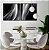 Conjunto com 02 quadros decorativos Abstrato - Imagem 3