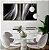 Conjunto com 02 quadros decorativos Abstrato - Imagem 1