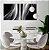 Conjunto com 02 quadros decorativos Abstrato - Imagem 2