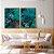 Conjunto com 02 quadros decorativos Esmeralda - Imagem 3