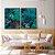 Conjunto com 02 quadros decorativos Esmeralda - Imagem 1