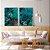 Conjunto com 02 quadros decorativos Esmeralda - Imagem 2